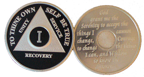WBLA Black and Silver Anniversary Medallion