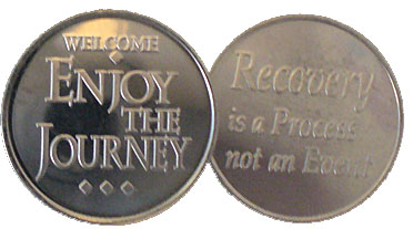 WDC134 Welcome Journey Aluminum Token