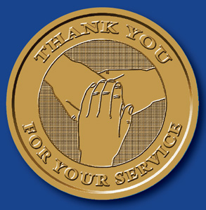 WBSC2083C Thank You Coin