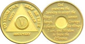 WBAGP Gold Plated Medallion