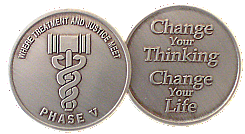 WBSC119N-5 Phase 5 Drug Court Coin