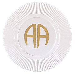 AA White Plastic Chip