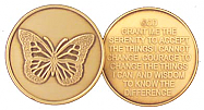 GBRM1006 Butterfly Medallion