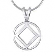 SJ-P38 Sterling Silver NA Pendant