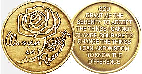 WBRM004 Women In Recovery Bronze Medallion