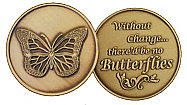GBRM2006R Butterfly Change Medallion Roll of 25