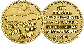 WBRM102 Soul May Soar Medallion
