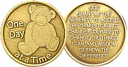 WBRM003 Teddy Bear Medallion