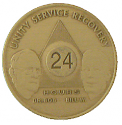 WBB24 24 Hour Bronze Bill and Bob Medallion