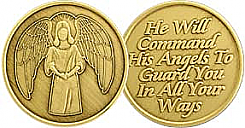 WBRM087R Angel Medallion