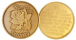 GBRM1004 Women In Recovery Bronze Medallion
