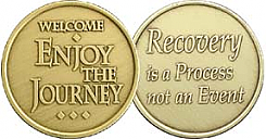 WBRM134R Welcome Journey Roll of 25 Medallions