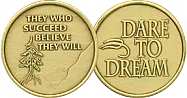 WBRM104 Succeed Believe Medallion