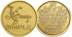 WBRM073R Keep it Simple Medallion Roll of 25