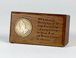 H4341 Desktop Medallion Holder