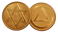 WBSC3010 Star of David AA Medallion
