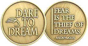 WBRM094 Dare to Dream Medallion