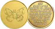 WBRM006R Butterfly Medallions Roll of 25