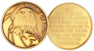 GBRM1114 Veterans in Recovery Medallion