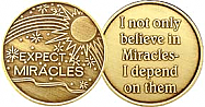 WBRM136 Expect Miracles Medallion