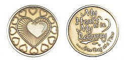WBRM060R Roll of 25 My Heart is in Recovery