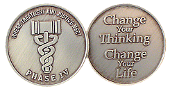 WBSC119N-4 Phase 4 Drug Court Coin