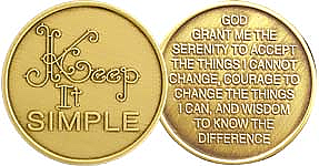 WBRM073 Keep it Simple Medallion