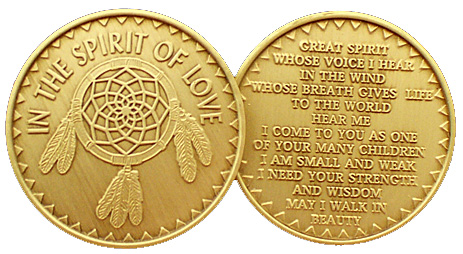 WBRM056R In the Spirit of Love Medallion Roll of 25