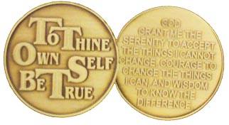 GBRM1074R To Thine Own Self Be True Roll of 25