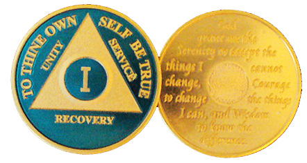 WBLU Blue and Gold Anniversary Medallion