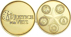 WBSC2114 Justice for Vets Medallion