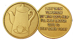 WBRM017 Coffee Pot Medallion