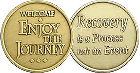 WBRM134 Welcome Journey Medallion