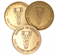 WBRM119C Customized Drug Court Medallions