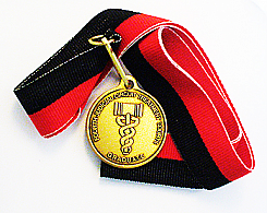 WBRM119CRB Customized Drug Court Medallion Graduation Ribbon
