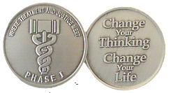 WBSC119N-1 Phase I Drug Court Coin