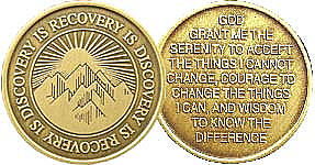 WBRM064 Recovery Discovery Medallion