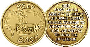 WBRM077 Keep Coming Back Medallion